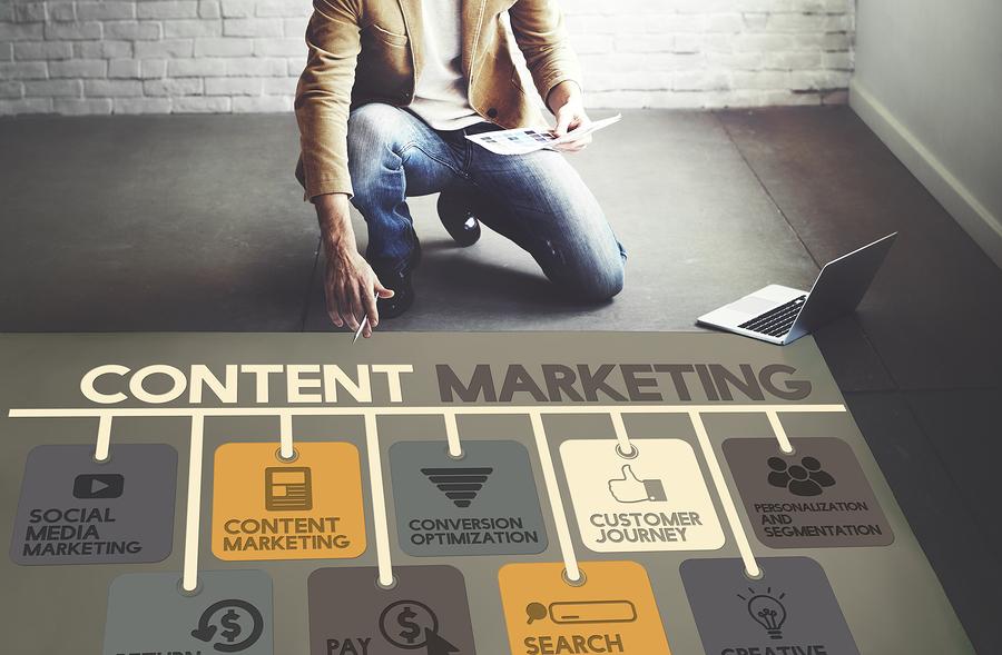 Content Marketing được hiểu nôm na là hoạt động tiếp thị nội dung.