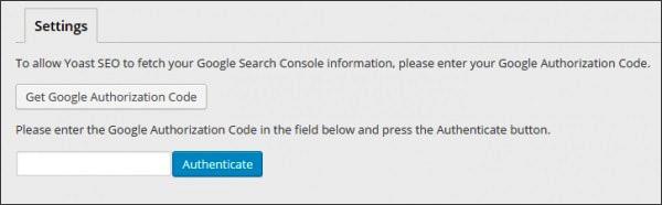 Công cụ này cho phép người dùng xác nhận được mã xác minh để liên kết Yoast SEO với Google Search Console.