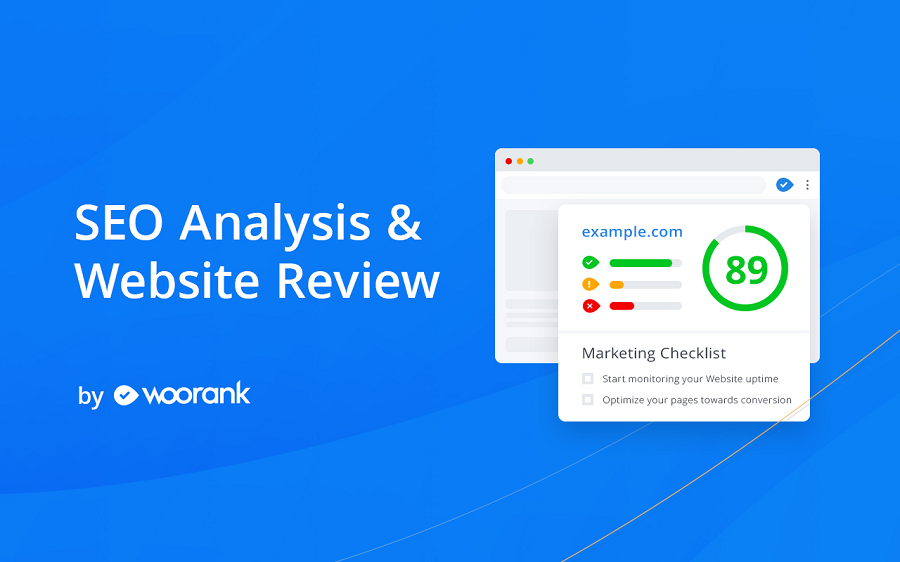 Woorank cung cấp các tùy chọn miễn phí và trả phí nhằm giúp các SEOer theo dõi và báo cáo về dữ liệu.
