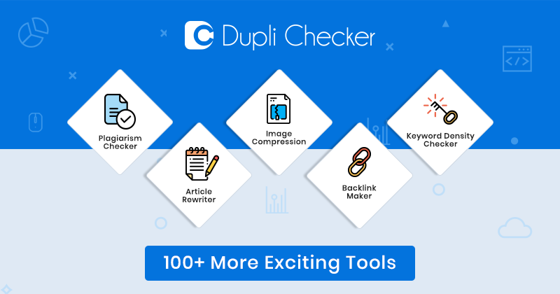 Duplichecker thì người dùng có thể check nội dung trùng lặp tiện lợi.