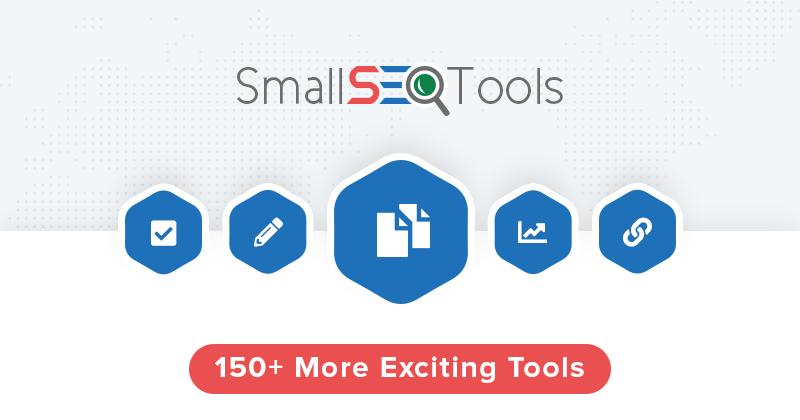Đứng đầu trong các công cụ kiểm tra bài viết chuẩn SEO đó chính là Small SEO Tools.
