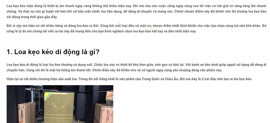 Một số dự án nhận viết bài cho website của Minh Hương Pynie được khách hàng đánh giá cao