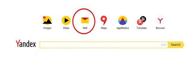 Yandex Mail là một dịch vụ thuộc công ty Yandex của Nga.