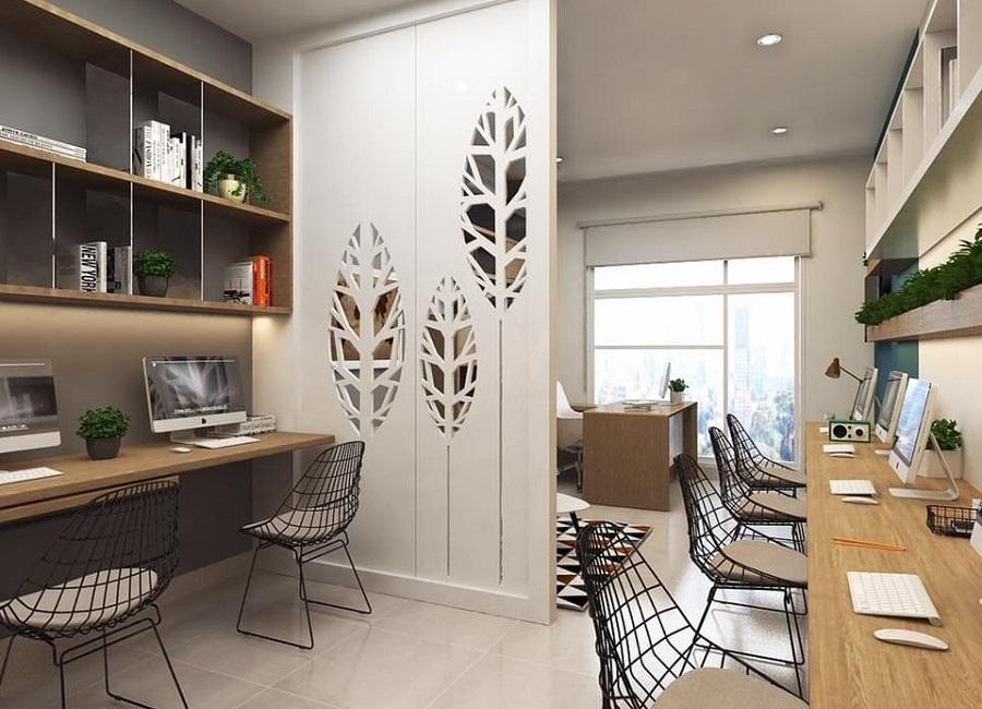 Các căn hộ officetel còn được hưởng đầy đủ tiện ích mà khu căn hộ có.