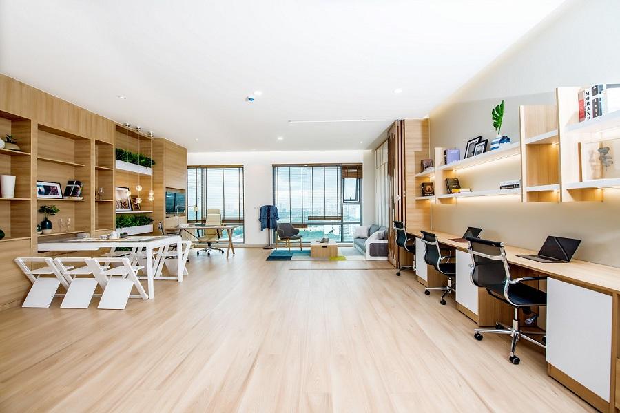 Căn hộ officetel có thể được sử dụng trong nhiều mục đích khác nhau.