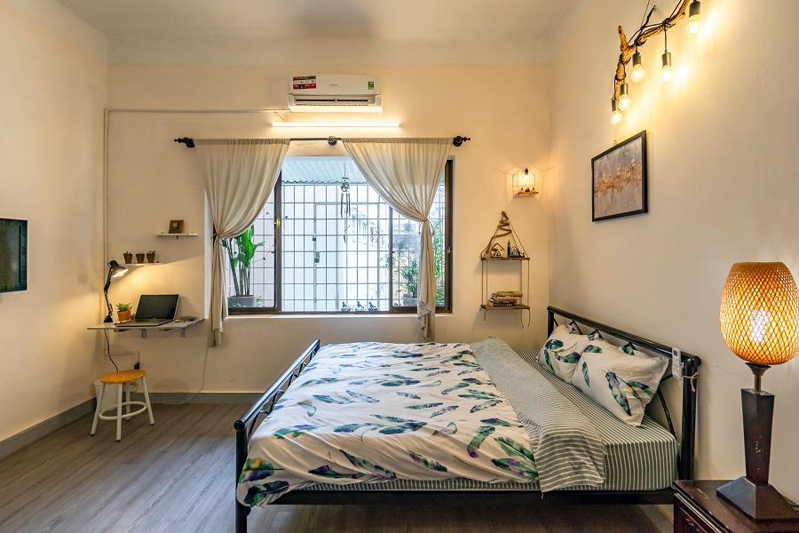Phòng rộng rãi, thoáng mát, trang trí siêu dễ thương