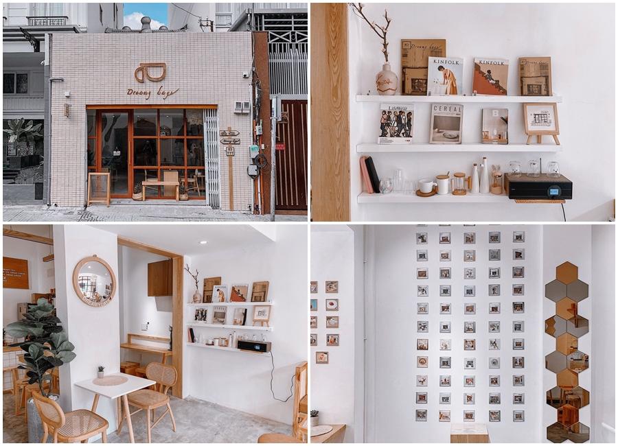 Đúng như tên gọi của nó, Dreamy days làm người ta liên tưởng đến tiệm cà phê trong truyện cổ tích với không gian cực kỳ lãng mạn và ảo diệu.