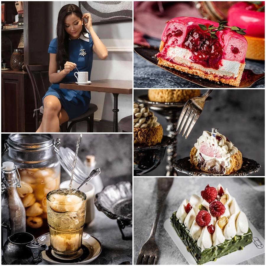 quán cà phê đẹp The Vagabond - điểm hẹn cho những ai yêu cafe và mê bánh ngọt.