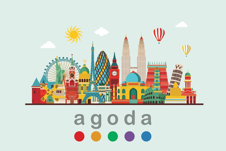 Agoda là nền tảng bán phòng đa quốc gia, Airbnb tương tự.  Nhưng ngoài bán phòng, Agoda còn bán vé máy bay và combo cả 2 món này cộng lại.