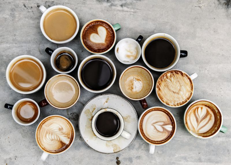 The đáp ứng nhu cầu của người thưởng thức có rất nhiều dạng cà phê được biến đổi mới lạ ra đời.