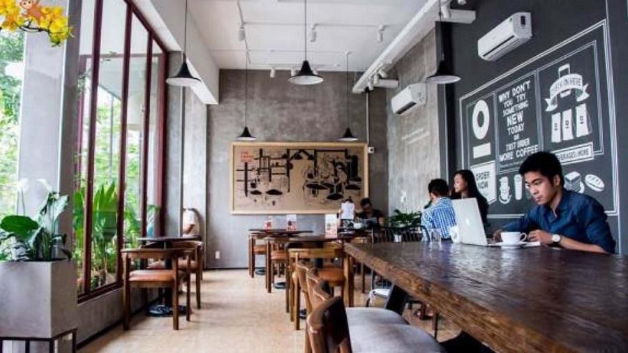 Những quán cà phê không có gian yên tĩnh rất thích hợp để học tập, làm việc.