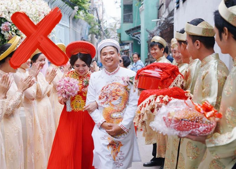 Theo quan niệm dân gian thì vào ngày 7/7 Âm lịch người ta kiêng tổ chức các nghi thức cưới hỏi.