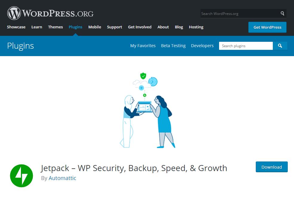 Jetpack Plugin công cụ thống kê lượng truy cập WordPress được nhiều người tin dùng.