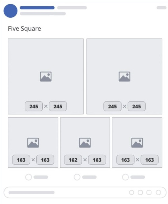 Đối với loại bài viết từ 5 hình vuông trở lên