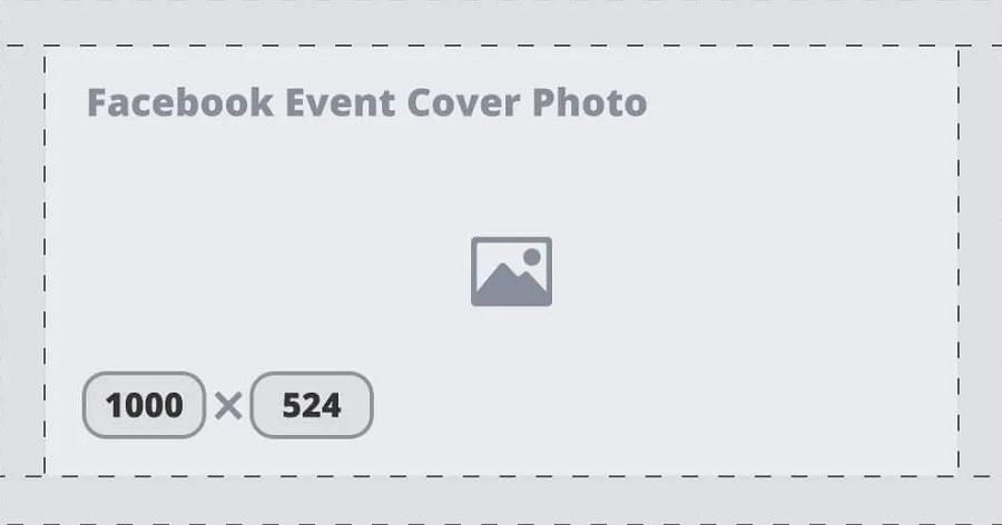 Kích thước ảnh bìa facebook event