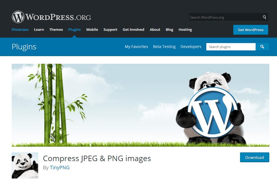 Tiny PNG: Compress JPEG & PNG images