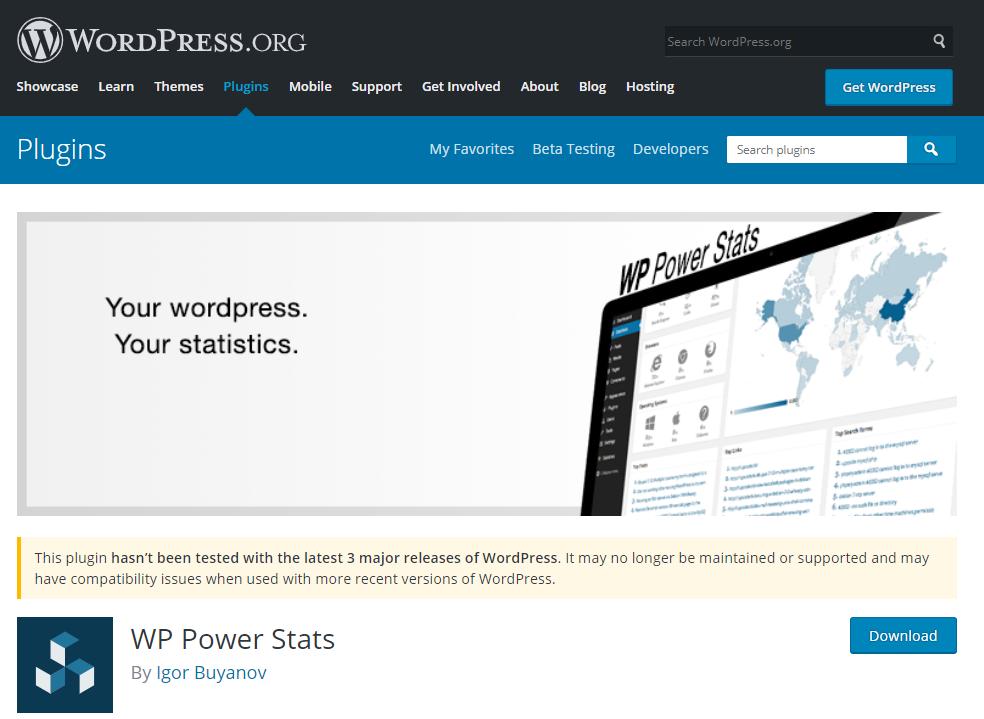 WP Power Stats plugin