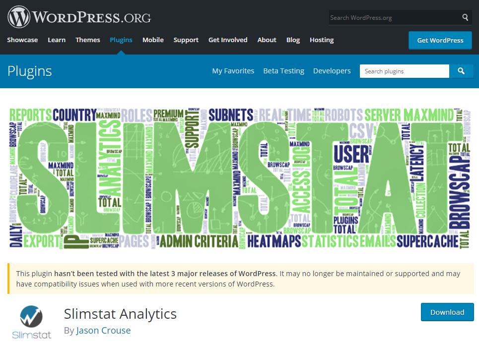 Slimstat Analytics plugin thống kê wordpress