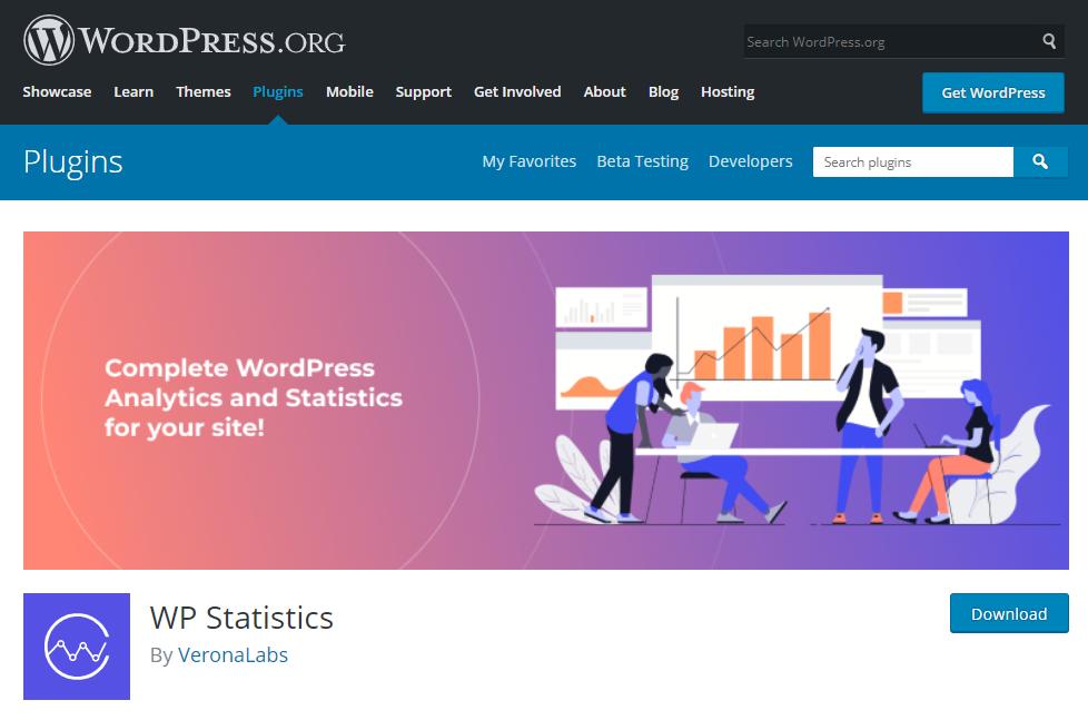 WP Statistics Plugin có nhiều tính năng hữu ích.