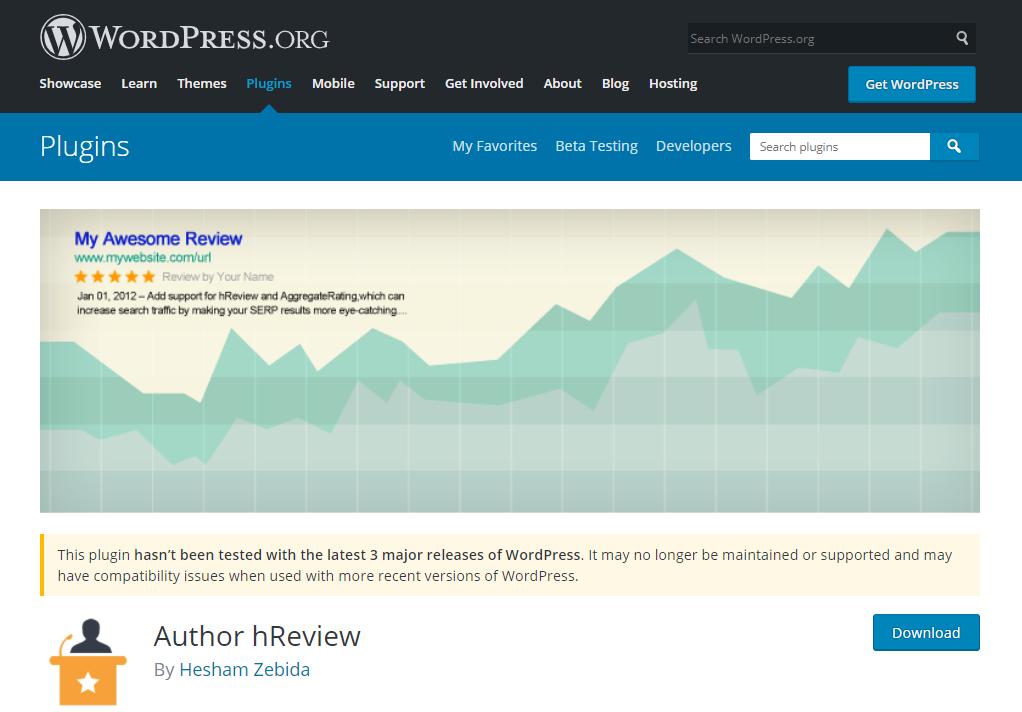 Author hReview giúp bạn thêm các rating, review vào web dễ dàng.