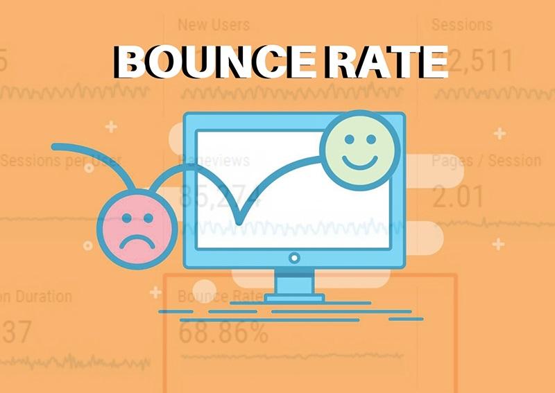 Bounce rate chính là thuật ngữ chỉ về tỷ lệ thoát trang.